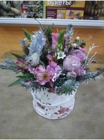 Цветы в коробке 17