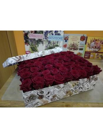 Цветы в коробке 15